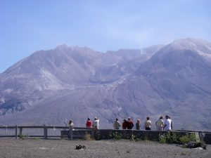 Mount Saint Helens Volcano Tour - mudflow