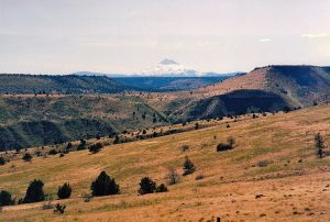 Native american cultural tour - View of Mount Hood
