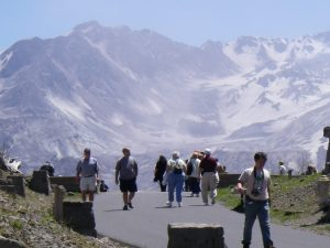 Mount Saint Helens Volcano Tour Viewpoint